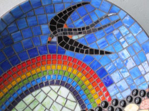 mozaiek zwaluw
